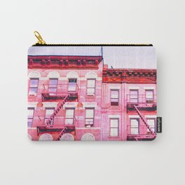 New York City Pink Buildings Carry-All Pouch