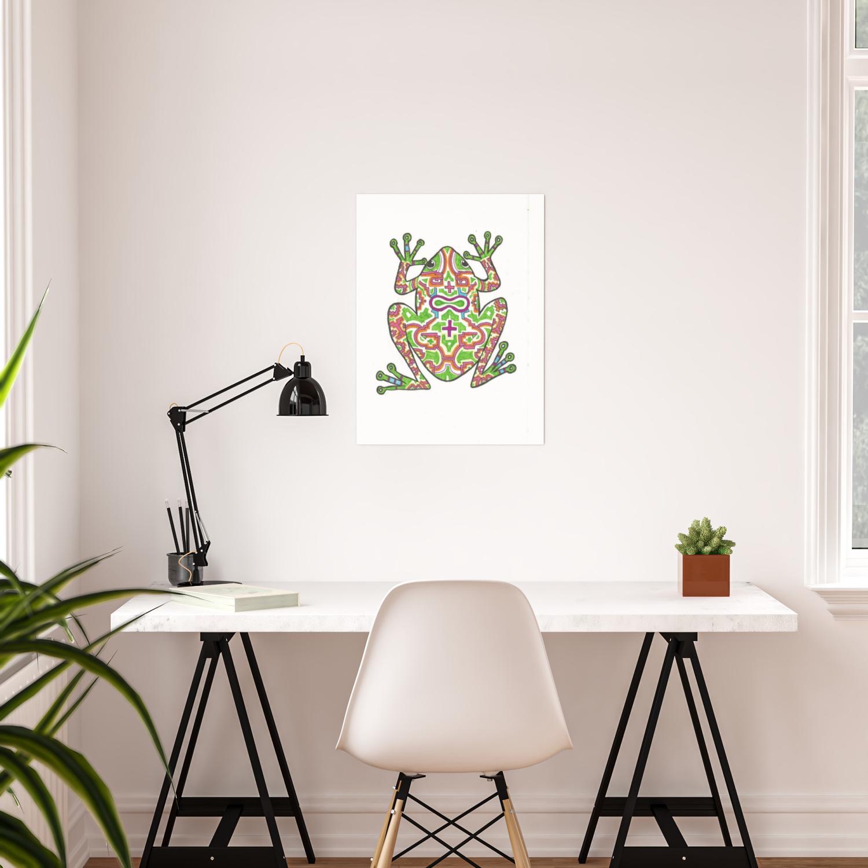 Kambo Frog Poster By Natalilikoi