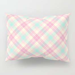 Spring Plaid 7 Pillow Sham