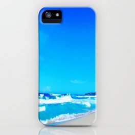 Carribean Coast iPhone Case