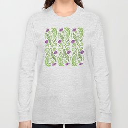 Thistles - Color PAttern Long Sleeve T-shirt