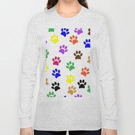 Paw print design Long Sleeve T-shirt
