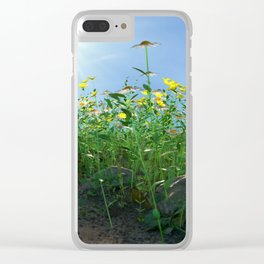 Country Lane Clear iPhone Case