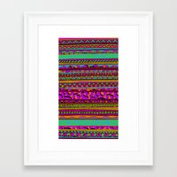 tribal Framed Art Prints featuring Tribal by Aimee St Hill