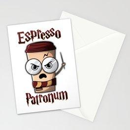 Espresso Patronum Stationery Cards