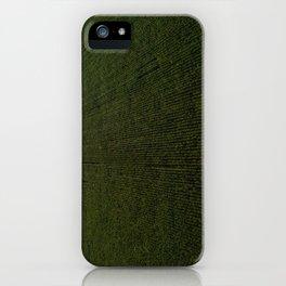 Rural Corn Fields iPhone Case