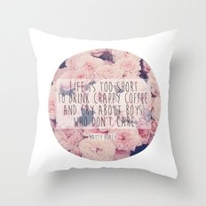 Matt Healy Quote Throw Pillow