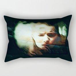 A Darker Hiding Place Rectangular Pillow