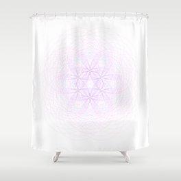 Fractal Force Shower Curtain