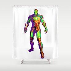 Man of Iron Shower Curtain