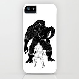 The First Step iPhone Case