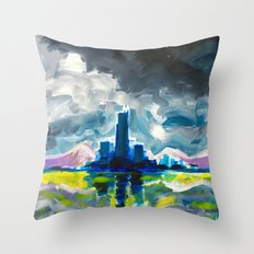 Majestic Midnight  Throw Pillow
