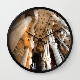 Gaudi Series Sagrada Família No. 1 Wall Clock