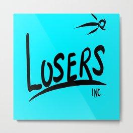 Losers Inc. III Metal Print