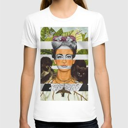 """""""Self Portrait with Thorn Necklace"""" & Joan Crawford T-shirt"""