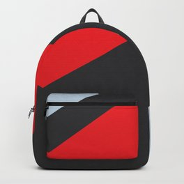 Abstract art red, blue and black Backpack