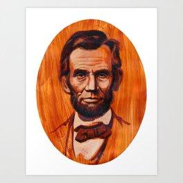 Lincoln Oval Art Print