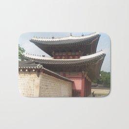Travel to the city of Seoul South Korea Bath Mat