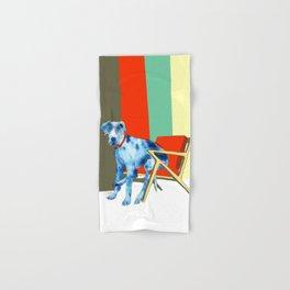 Great Dane in Chair #1 Hand & Bath Towel