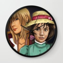 Sophie and Hauru Wall Clock