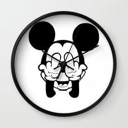 Mickey F**k Wall Clock
