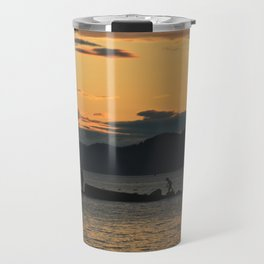 The skies proclaim the work of His hands Travel Mug