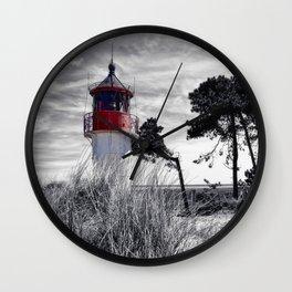 beacon fire panorama Wall Clock