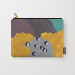 Little Mountain Village Carry-All Pouch