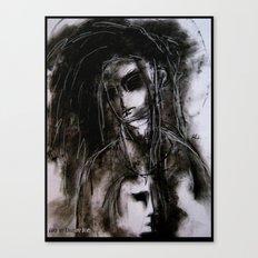 Goth Rocker Canvas Print