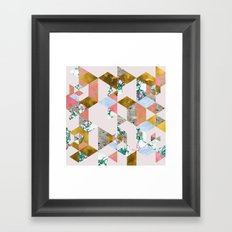 Geometry of Love #society6 #decor #buyart Framed Art Print