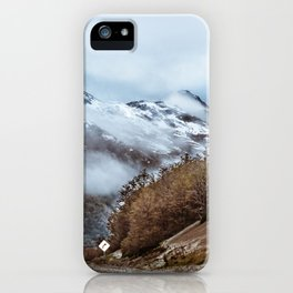 Patagonian Highway, Los Lagos, Chile iPhone Case
