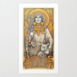 Lady of Baza- Dama de Baza Art Print