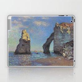 Claude Monet's The Cliffs at Etretat Laptop & iPad Skin