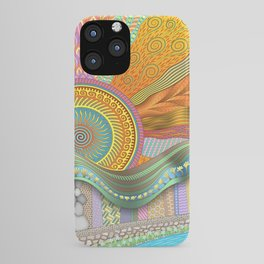 Sunrise In Finger Tree Forest iPhone Case