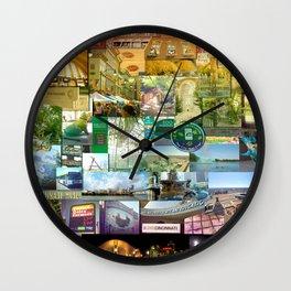 Cincinnati Spectrum Wall Clock