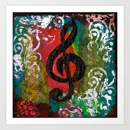 Create Music  Art Print