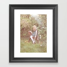 little rocking horse Framed Art Print