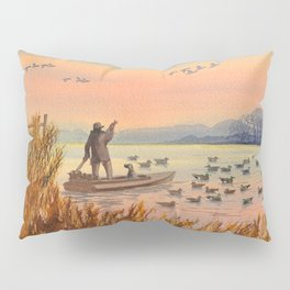 Duck Hunting On A perfect Day Pillow Sham