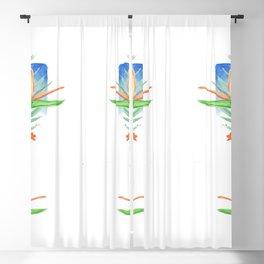 Malia's Tropical Print Blackout Curtain