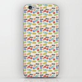 Pill Pile iPhone Skin