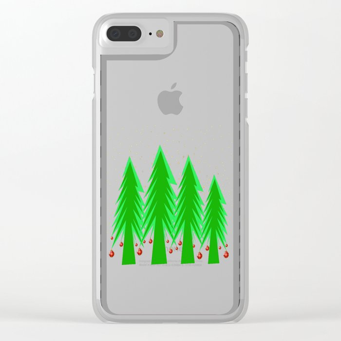 Christmas Dreamer | Christmas Spirit Clear iPhone Case