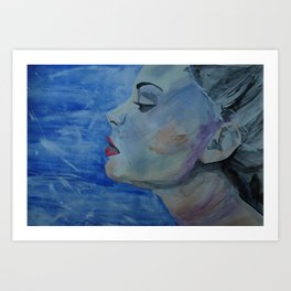 Breathe Painting Art Print