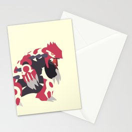 Primal Groudon Stationery Cards