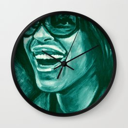 keep smiling option two! Wall Clock