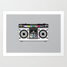 1 kHz #8 Art Print