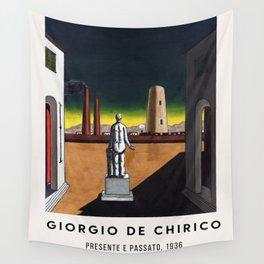 Giorgio De Chirico - Presente e passato, 1936 Wall Tapestry