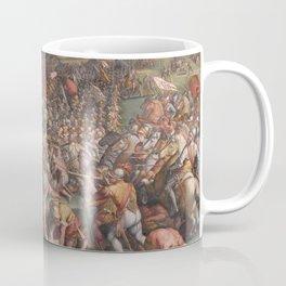 Classic Art The battle of Marciano in Val di Chiana By Giorgio Vasari Coffee Mug