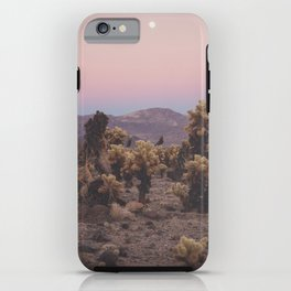 Pink Dusk iPhone Case