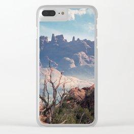 Devil's Garden, Utah Clear iPhone Case