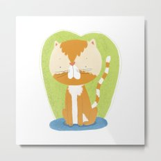 Tommy The Cat Metal Print